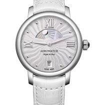 Aerowatch Renaissance Steel 36mm Silver Roman numerals