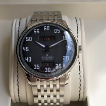 Junghans Meister Driver Stal 40,4mm Szary