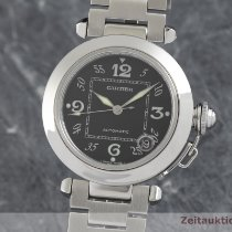 Cartier Pasha C 2324 Very good Steel 35.5mm Automatic