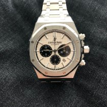 Audemars Piguet Royal Oak Chronograph Stahl 41mm Silber Keine Ziffern