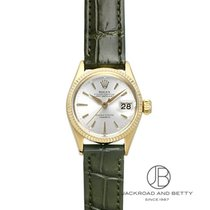 Rolex Geelgoud Automatisch 25mm tweedehands Oyster Perpetual Lady Date