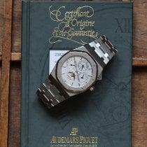 Audemars Piguet Royal Oak Perpetual Calendar Ocel Stříbrná