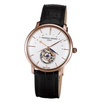 Frederique Constant Manufacture Tourbillon Rose gold 43mm White No numerals United States of America, New York, New York