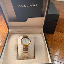 Bulgari Lucea Gold/Steel 28mm Mother of pearl No numerals United States of America, New York, New York