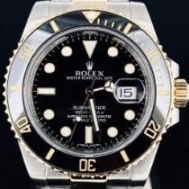 Rolex Submariner Date Arany/Acél 40mm Fekete Számjegyek nélkül