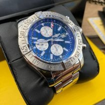 Breitling Super Avenger II Steel 48mm Blue No numerals United States of America, Texas, Haslet