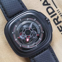 Sevenfriday P3-1 Steel 47mm Black