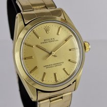 Rolex Oyster Perpetual 34 occasion 34mm Or Acier