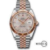 Rolex Datejust II Gold/Steel 41mm Champagne No numerals United States of America, New York, New York