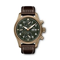 IWC Pilot Spitfire Chronograph new 2020 Automatic Chronograph Watch with original box and original papers IW387902