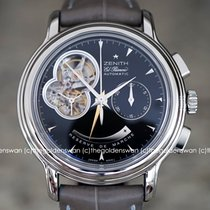 Zenith El Primero Chronomaster Steel 40mm Black No numerals United States of America, Massachusetts, Milford