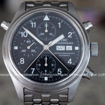 IWC Pilot Double Chronograph Steel Black United States of America, Massachusetts, Milford