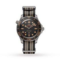 Omega Seamaster Diver 300 M Titanium 42mm Black