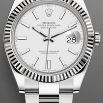 Rolex Datejust Steel 41mm Black No numerals United States of America, New York, Brooklyn