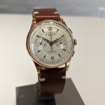 Chronographe Suisse Cie Or rose 38mm Remontage manuel 282 occasion
