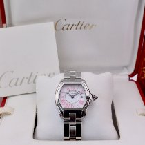 Cartier Roadster Steel 37mm Mother of pearl Roman numerals United Kingdom, London