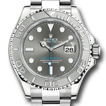 Rolex Yacht-Master 40 Steel 40mm Grey No numerals United States of America, New York, NEW YORK