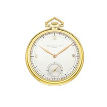 Patek Philippe Watch pre-owned Yellow gold 46mm No numerals Manual winding Watch only