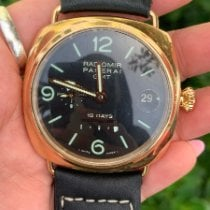 Panerai Rose gold Automatic Black 45mm pre-owned Special Editions