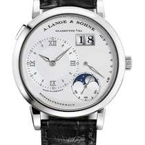 A. Lange & Söhne Platinum Manual winding Silver pre-owned Lange 1