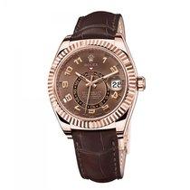 Rolex Sky-Dweller Or rose Brun