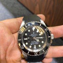 Rolex Sea-Dweller Deepsea pre-owned 44mm Black Date Rubber