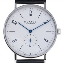NOMOS Tangente 38 new 2020 Manual winding Watch with original box and original papers 165