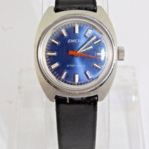 Enicar Steel 28mm Manual winding 690-51-01 pre-owned