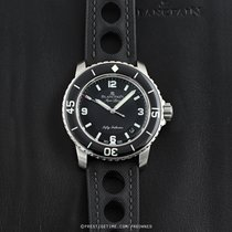 Blancpain Fifty Fathoms Steel 45mm Black United States of America, New York, Airmont