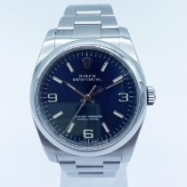 Rolex Oyster Perpetual 36 Acier 36mm Bleu Arabes France, Paris