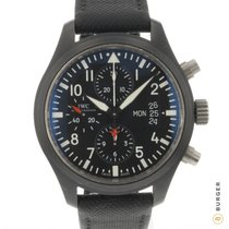 IWC Pilot Chronograph Top Gun Ceramika 44mm Czarny Arabskie