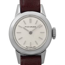 Movado usados Cuerda manual 15.1mm Plata