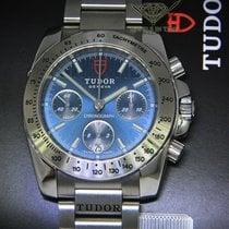 Tudor Sport Chronograph Acier 41mm Bleu