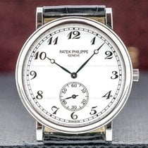Patek Philippe Calatrava Platinum 33mm White Arabic numerals United States of America, Massachusetts, Boston
