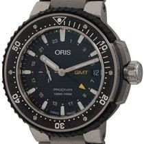 Oris ProDiver GMT 01 748 7748 7154-07 8 26 PEB pre-owned