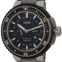 Oris ProDiver GMT Titanium 49mm Black United States of America, Texas, Austin