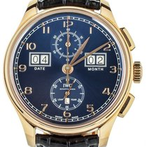 IWC Portuguese Perpetual Calendar Digital Date-Month Rose gold 45mm Blue United States of America, Illinois, BUFFALO GROVE