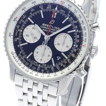 Breitling Navitimer 1 B01 Chronograph 43 Steel 43mm Black No numerals