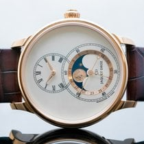 Jaquet-Droz Grande Seconde Rose gold 43mm Champagne United States of America, New Jersey, Englewood