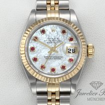 Rolex Lady-Datejust Zlato/Zeljezo 26mm Bjel