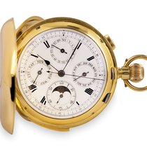 Pocket Watch Very good Yellow gold 55mm Manual winding