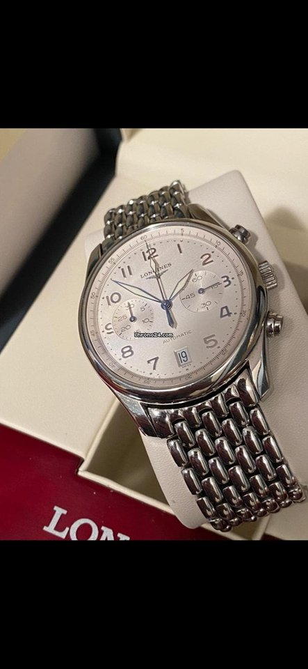 Longines Master Collection L.2.629.4 2015 pre-owned