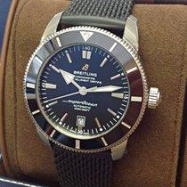 Breitling Superocean Heritage II 46 Acero 46mm Negro Sin cifras