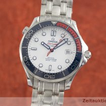 Omega Seamaster Diver 300 M Staal 42mm Wit