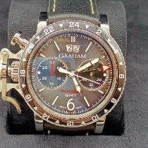 Graham Chronofighter Stahl 44mm Schwarz Arabisch Schweiz, La Chaux-de-Fonds