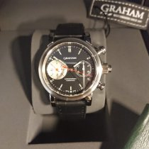 Graham Steel 40mm Automatic 2LIAS.B03A new