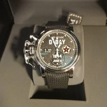 Graham Chronofighter 2CVAS.B30A New Steel 43mm Automatic