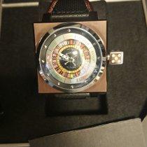 Azimuth King Casino Acier 45mm Brun Sans chiffres