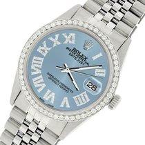 Rolex Datejust Acero 36mm Azul Romanos