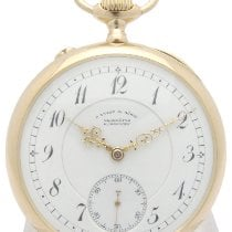 A. Lange & Söhne Watch pre-owned 1900 Yellow gold Manual winding Watch only